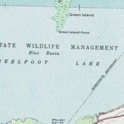 Reelfoot Lake Tennessee Map.Reelfoot Lake Lake County Tennessee Lake Ridgely Usgs