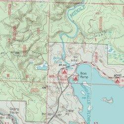 Bond Falls Michigan Map.Bond Falls Ontonagon County Michigan Falls Paulding Usgs