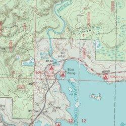 Bond Falls Michigan Map.Bond Falls Park Picnic Area Ontonagon County Michigan Locale