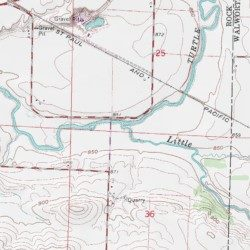 Little Turtle Creek Rock County Wisconsin Stream Clinton Usgs