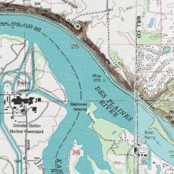 Des Plaines Map on