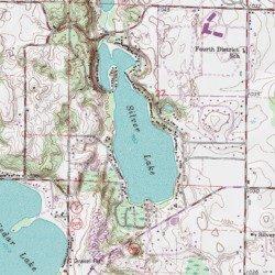 Silver Lake Washington County Wisconsin Reservoir West Bend Usgs