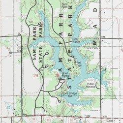 State Parks Illinois Map.Sam Parr State Park Jasper County Illinois Park Yale Usgs