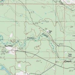 Turkey Creek, Baldwin County, Alabama, Stream [Carlton USGS ... on dekalb county, baker county alabama map, madison county, nashville alabama map, houston county, pine grove alabama map, jefferson county, daphne alabama map, macon alabama map, autauga county alabama map, city of cullman alabama map, morgan county, spanish fort, gulf shores, escambia county, north alabama county map, orange beach, gulf shores alabama map, monroe county, black warrior river alabama map, montgomery county, barbour county alabama map, washington county, calhoun county, mobile county, st. augustine alabama map, baldwin beach express map, shelby county, silverhill alabama map, cook county alabama map, stockton alabama map, walton county alabama map, gulf state park alabama map, south carolina alabama map, perdido alabama map, butler county,