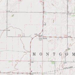 Gibson County Indiana Map.Oak Grove Cemetery Gibson County Indiana Cemetery Poseyville