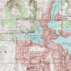 Loomis Lake Porter County Indiana Reservoir Chesterton Usgs