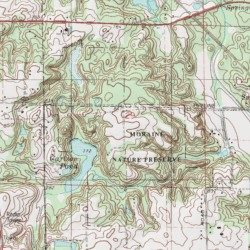 Porter Indiana Map.Moraine Nature Preserve Porter County Indiana Park Chesterton