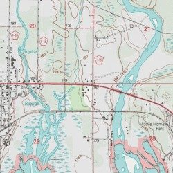 Delta National Forest Map on