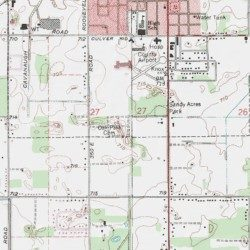 Oak Park Cemetery Starke County Indiana Cemetery Knox West Usgs