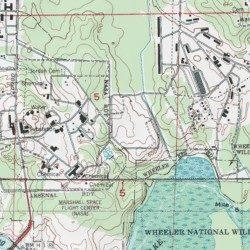 Redstone Arsenal Madison County Alabama Military Madison USGS - Military topographic maps