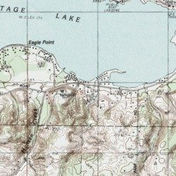 Portage Lake Michigan Map.Portage Lake Rv Park Manistee County Michigan Locale Onekama
