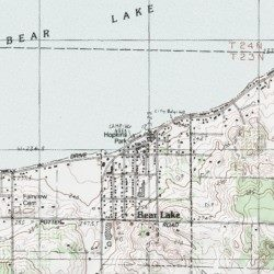Hopkins Park Campground, Manistee County, Michigan, Locale [Bear