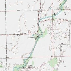Boggstown Indiana Map.Camp Joy Shelby County Indiana Park Boggstown Usgs Topographic