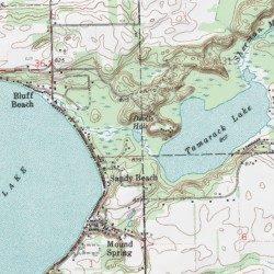 Devils Hole St Joseph County Michigan Lake Klinger Lake Usgs