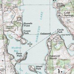 Steuben County Indiana Map.Hamilton Lake Steuben County Indiana Lake Hamilton Usgs