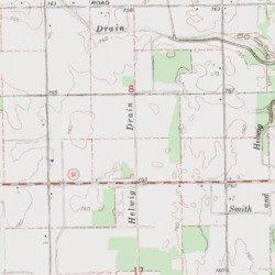 Helwig Drain Gratiot County Michigan Canal Carson City Usgs