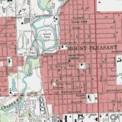 Central Michigan University Historical Marker (historical), Isabella on