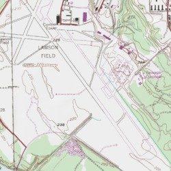 Lawson Army Airfield Fort Benning Chattahoochee County Georgia - Georgia map fort benning