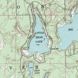 Little Bear Lake, Otsego County, Michigan, Lake