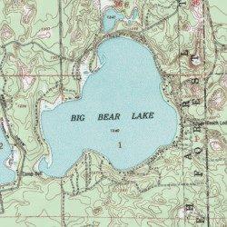 Big Bear Lake, Otsego County, Michigan, Lake [Johannesburg