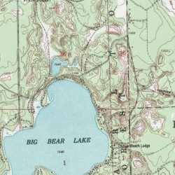 Big Bear Lake State Forest Campground, Otsego County