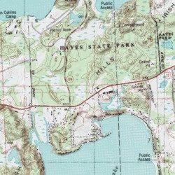 Irish Hills Lenawee County Michigan Range Onsted Usgs