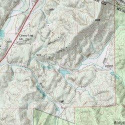Map Of Georgia Ellijay.Ellijay River Watershed Dam Number 12 Gilmer County Georgia Dam