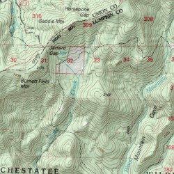 Blood Mountain Wilderness, Lumpkin County, Georgia, Reserve