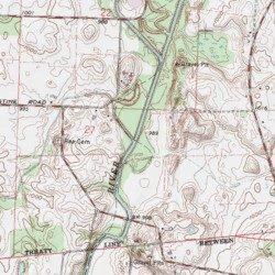 Brandywine Creek Logan County Ohio Stream Russells Point Usgs