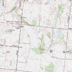 Siegenthaler-Kaestner Esker State Nature Preserve, Champaign County on