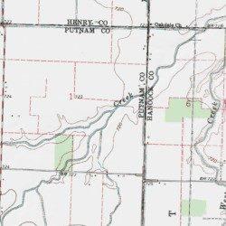 Deshler Ohio Map.Little Yellow Creek Putnam County Ohio Stream Deshler Usgs