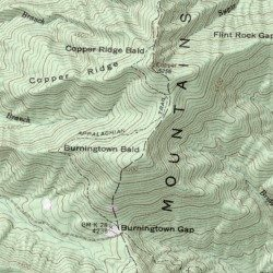Cold Spring Appalachian Trail Shelter Macon County North - Appalachian trail shelters map