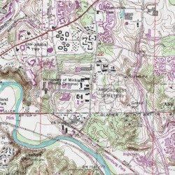 University Of Michigan Ann Arbor North Campus Washtenaw - Ann arbor map