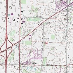 Arbor Meadows Mobile Home Park Washtenaw County Michigan Populated Place Ypsilanti West USGS Topographic Map By MyTopo