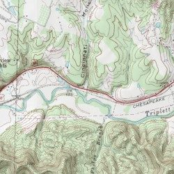 Cincinnati Hollow Rowan County Kentucky Valley Morehead Usgs