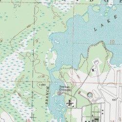 Thunder Bay Michigan Map.Lower South Branch Thunder Bay River Alpena County Michigan