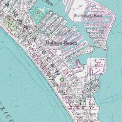 Anna Maria Island Manatee County Florida Island Anna Maria Usgs