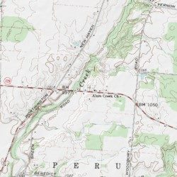 Marengo Ohio Map.Alum Creek Cemetery Morrow County Ohio Cemetery Marengo Usgs