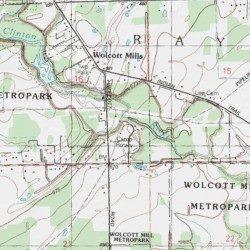 Camp Rotary Macomb County Michigan Locale Armada Usgs