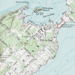South Bass Island Ottawa County Ohio Island Put In Bay Usgs