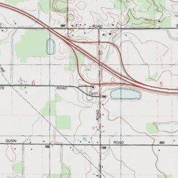 Memphis Michigan Map.Tibbetts Road Cemetery St Clair County Michigan Cemetery