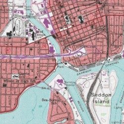 Tampa Topographic Map.Hillsborough River Hillsborough County Florida Stream Tampa Usgs