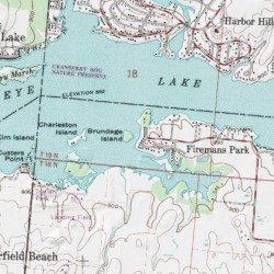 Brundage Island Perry County Ohio Island Thornville Usgs