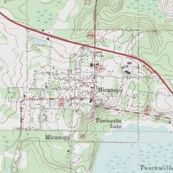 Town Of Micanopy Alachua County Florida Civil Micanopy Usgs