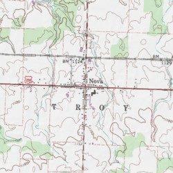 Nova, Ashland County, Ohio, Poted Place [Nova USGS ... on map of warren ohio, crawford county, map of united states ohio, map of jeromesville ohio, map of ashland ohio area, map of cincinnati ohio, hancock county, allen county, map of clear creek township ohio, adams county, map of mifflin township ohio, holmes county, map of chippewa ohio, map of parma ohio, map of broadview heights ohio, map of lebanon ohio, richland county, map of milton township ohio, franklin county, map of canton ohio, clark county, map of beloit ohio, cuyahoga county, map of perry township ohio, knox county, map of orange township ohio, lorain county, wayne county, lake county, medina county, map of ashtabula ohio, erie county, map of west chester ohio, map of cuyahoga river ohio, delaware county, fairfield county, marion county, map of madison ohio,