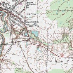 Grafton Reservoir Dam Lorain County Ohio Dam Grafton Usgs