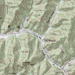 Coalwood West Virginia Map.Coalwood Mcdowell County West Virginia Populated Place Davy Usgs
