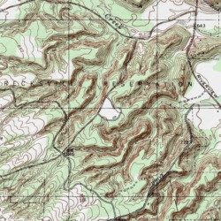 Topography Map Of Ohio.Brecksville Reservation Cuyahoga County Ohio Park Northfield