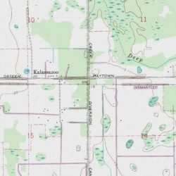 Deep Creek Florida Map.Deep Creek Diversion Canal Volusia County Florida Canal Osceola