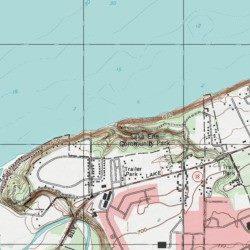 Lake Erie Community Park Erie County Pennsylvania Park Fairview - Lake erie topographic map